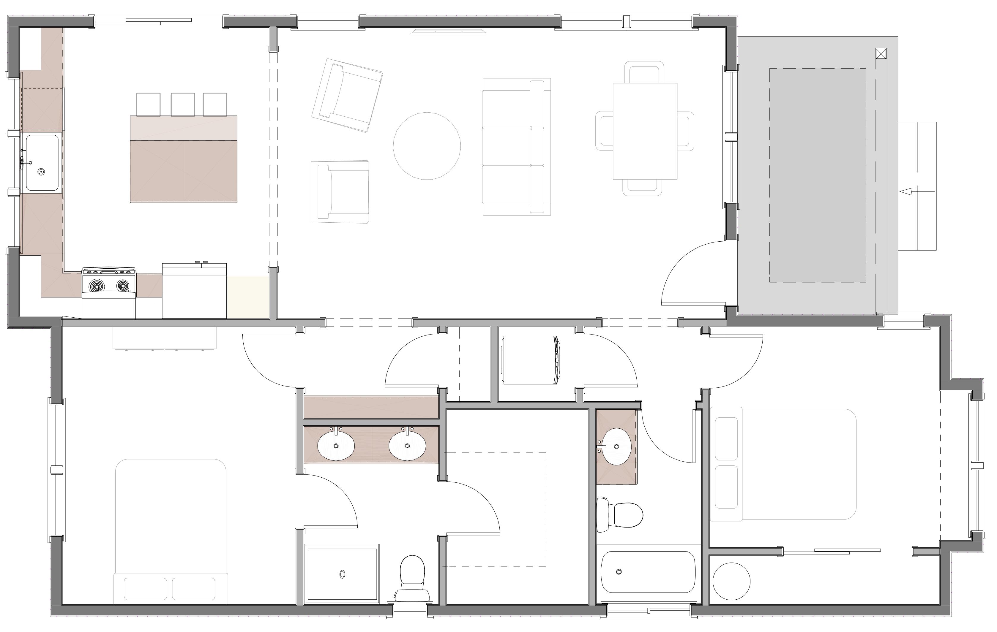 Woodstock cottage floorplan
