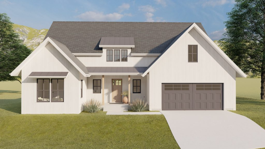 This image shows a picture of an applewood home